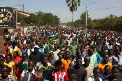 More than one million people reportedly took to the streets to stop President Blaise Compaore from changing the constitution of Burkina Faso so that he could seek a third term in 2015.