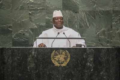 Yahya Jammeh of the Gambia.