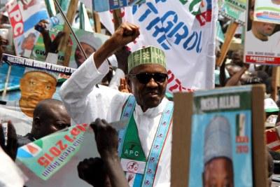 Former Head of State, Muhammadu Buhari.