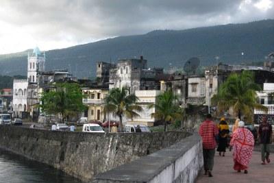 Moroni, la capitale de la Grande-Comore, d'où le prochain Président devrait être originaire.