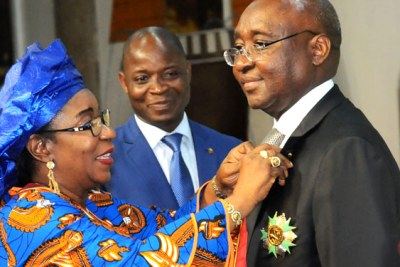 Kaberuka received the honours on the occasion of his last official visit to Benin as AfDB President.