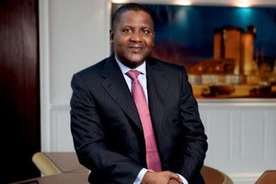 Le Nigérian Aliko Dangote est toujours l'homme le plus riche d'Afrique, selon le magasine américain, Forbes