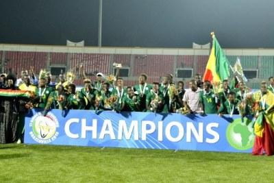 Le Sénégal remporte la médaille d'or en football lors des Jeux Africain Brazzaville 2015