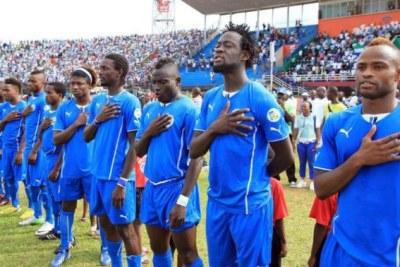 L'équipe de la Sierra Léone