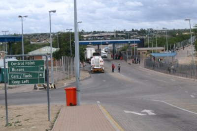 Beitbridge border crossing.