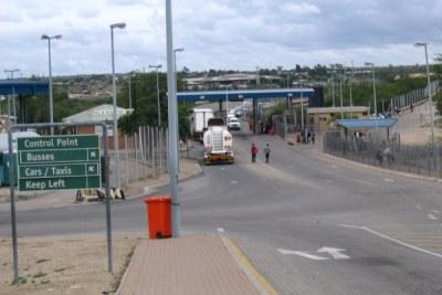 Beitbridge border crossing.