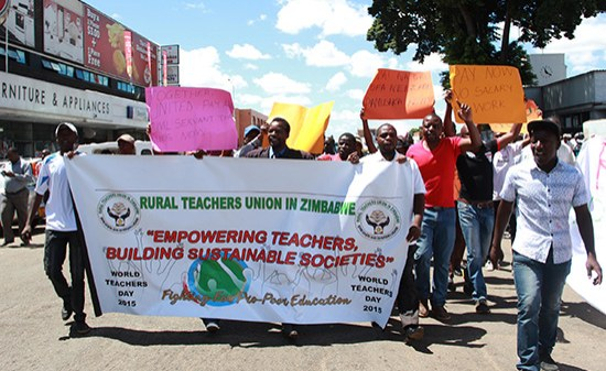 Non Govt High School Teachers Nibondon 2019 Picture: Zimbabwe Teachers To Strike, Ignoring Govt Appeal