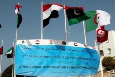 Début à Tunis de la 8e réunion des pays voisins de la Libye