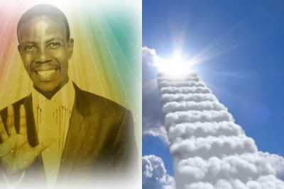 Prophet Mboro is allegedly selling pictures of himself in heaven for R5 000.
