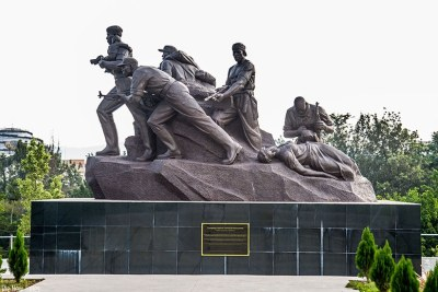 The statue depicting the valour and heroism that was manifested during 1994 Genocide against the Tutsi by RPA (now RDF) soldiers (file photo)