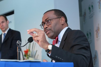 Mr Akinwumi Adesina, président de la Banque africaine de développement