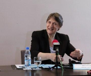 Conférence de presse de Madame Helen Clark à Dakar
