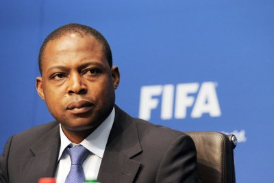 Former Football Association of Zambia president Kalusha Bwalya (file photo).