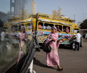 IN PHOTOS: Dakar's Legendary Car Rapides, a Vibrant Experience
