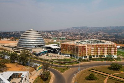 Kigali Convention Center (file photo).