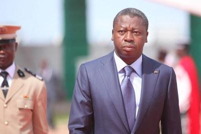 Le président Faure Gnassingbé