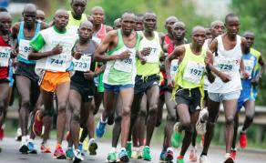 Kenyans Show Off at Boston Marathon