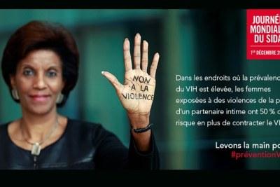 Affiche  journée mondiale de lutte contre le SIDA