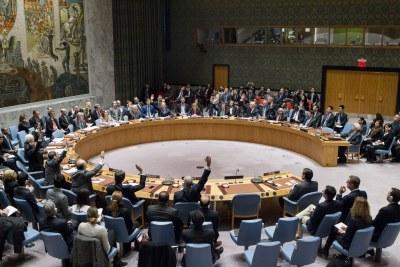 Le Conseil de sécurité