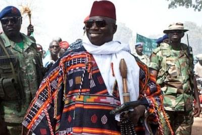 (Image d'archives) - Le sulfureux Yahya Jammeh a quitté la Gambie pour la Guinée-Equatoriale, après une escale à Conakry.