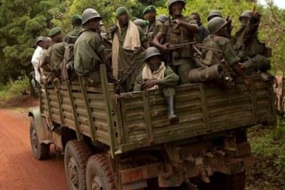 Les FARDC en patrouille dans l'Est de la RDC (archive)