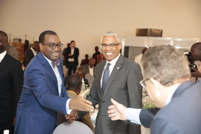 African Development Bank Group President Akinwumi Adesina addressed heads of diplomatic missions and international organizations accredited to Côte d'Ivoire, Abidjan, 16 February, 2017