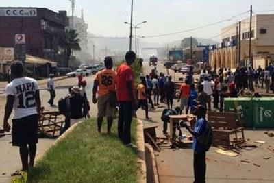 Affrontements ville de Bamenda au Cameroun
