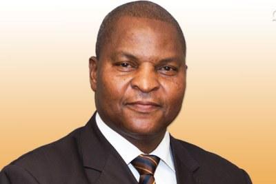 M. Faustin-Archange TOUADERA, Président de la République Centrafricaine