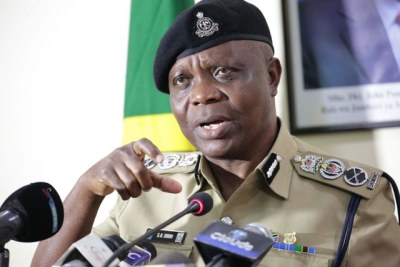 The new Inspector General of Police (IGP), Simon Sirro.