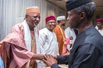 Yemi Osinbajo met with some leaders from the northern region of the country.