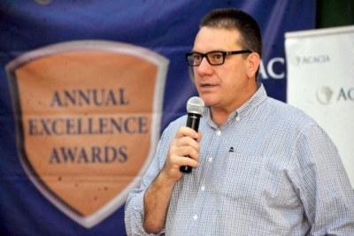 Acacia Mining CEO, Brad Gordon.