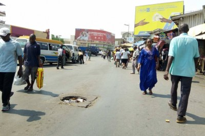 A street in Bujumbura
