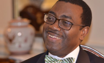 'Fast Track' at the Bank  - World Food Prize Winner Adesina #AfDB