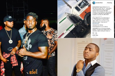 Fuelling a pal's dream: Davido got his friend quite the birthday gift.