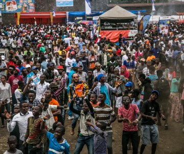 Thousands Attend the Amani Festival in Goma