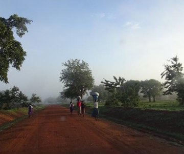 Travelling the Ugandan border with South Sudan