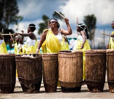 Rwandan Women Drumming Their Way to Prosperity