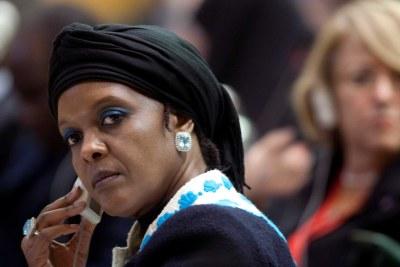 Former First Lady Grace Mugabe.