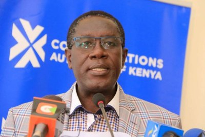 Communications Authority of Kenya Director General Francis Wangusi.