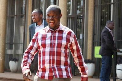Tajamuka leader Promise Mkwananzi (file photo).