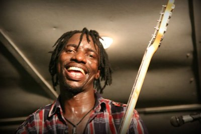 Zimbabwe's afro pop musician Progress Chipfumo.