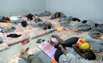 L'OIM et le HCR appellent à la libération des migrants détenus en Libye