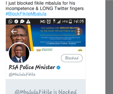 In Case You Missed #BlockFikileMbalula