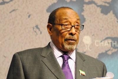 Ahmed Mohamed Mahamoud Silanyo, Président du Somaliland depuis 2010