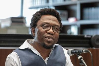L' écrivain Patrice Nganang