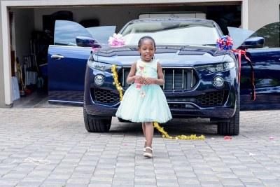 Prophet Bushiri's five-year-old daughter, Israella Bushiri.