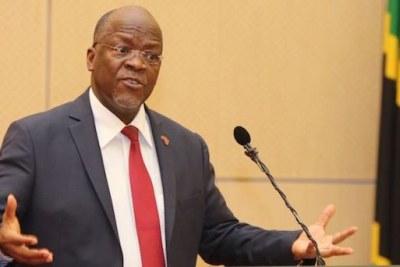 Président de la Tanzanie,John Magafuli