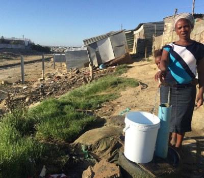 Cape Town's Siyahlala informal Settlement Already Seeing Day Zero