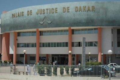 Palais de justice de Dakar, Sénégal.