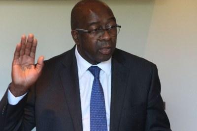 Nhlanhla Nene sworn in as Cabinet Minister